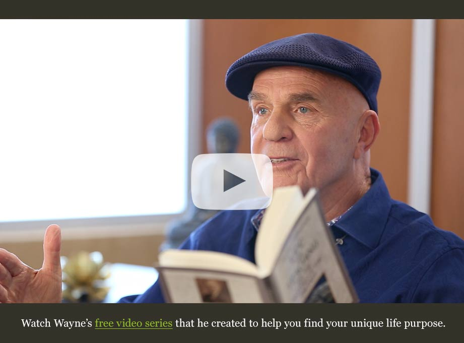 Watch Wayne's free video series that he created to help you find your life purpose.