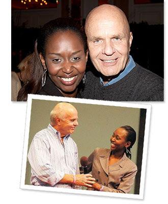 Wayne Dyer and Immaculée Ilibagiza