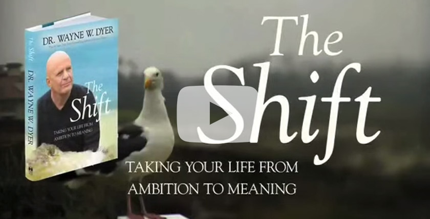 Buy The Shift - Companion Book to The Shift DVD by Dr Wayne Dyer